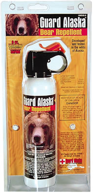 Bear Spray, BR-9 Guard Alaska Bear Repellent