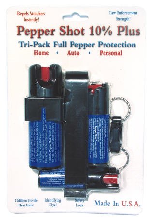 PS-6 Pepper SprayTri-Pack - Min of 6 - SAVE!!!
