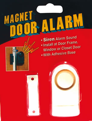 Slide Away Alarm, White