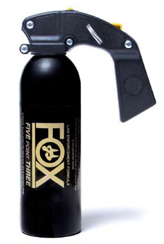 Pepper Spray FoxLabs oc spray, 1 lb pistol grip fogger