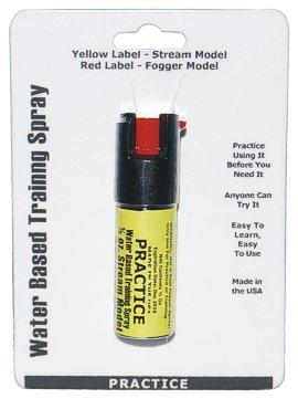 Practice Spray, Inert Stream Spray 1/2 oz - Click Image to Close