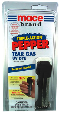 Mace Triple Action, Personal Model, w. keychain
