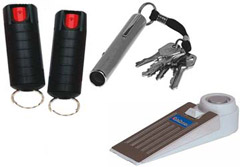 Pepper Spray Defense Kit for Students on Campus, School