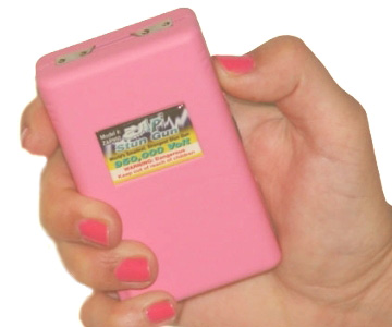 Stun Gun ZAP 950 PINK, new mini ZAPPER 950 stungun - Click Image to Close
