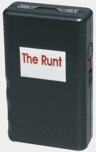 The Runt, mini stun gun, 2.5 Million, 3.5 M, 4.5 Million Volts