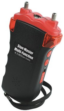 Stun Master Multi-Function Stun Gun, 4.5 Million Volts