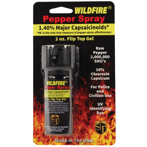 WildFire 1.4%MC Pepper Gel Sticky Pepper Spray 2oz