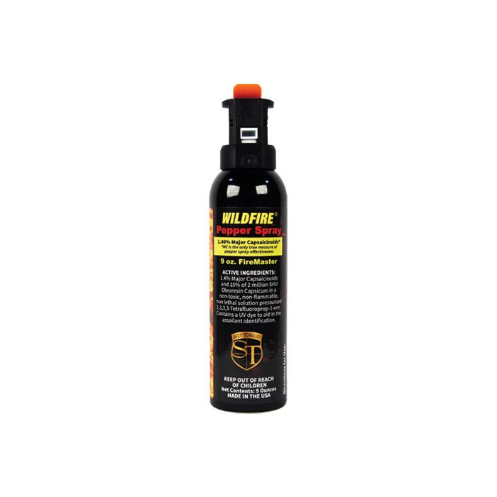 Wildfire Strongest Pepper Spray, 9 oz, FireMaster