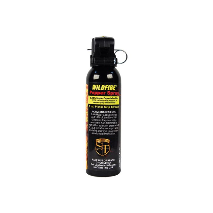 Wildfire Strongest Pepper Spray, 9 oz, Pistol Grip