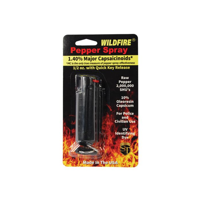 Wildfire 18% Pepper Spray, oc spray, 1/2 oz., WF18SM Min 3